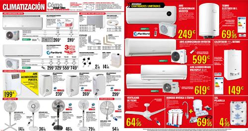 Aire acondicionado bricodepot brico depot catalogos for Compresor de aire bricodepot