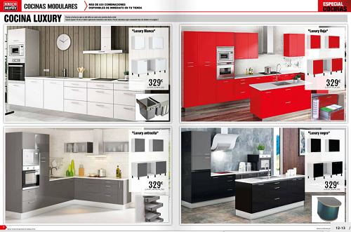 Cocinas baratas bricodepot brico depot catalogos - Cocinas modulares baratas ...