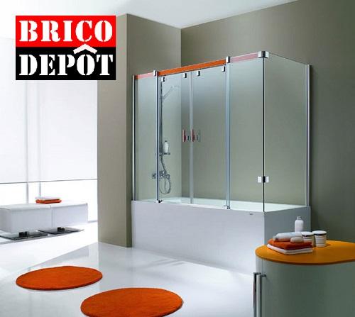 Mampara ducha brico depot for Grifo banera bricodepot